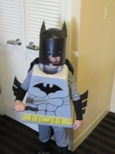 Lego Batman..ryan watch out! Lol