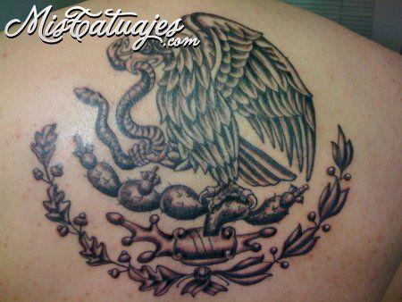 Aguila mexicana tattoos pinterest tatuajes e tatuagem for Tattoos mexicanos fotos