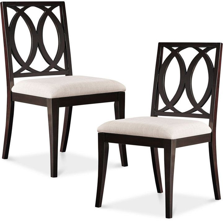 Attractive And Elegant Dining Chairs, Jessen Set Of 2 Dining Chairs, Direct  Ship