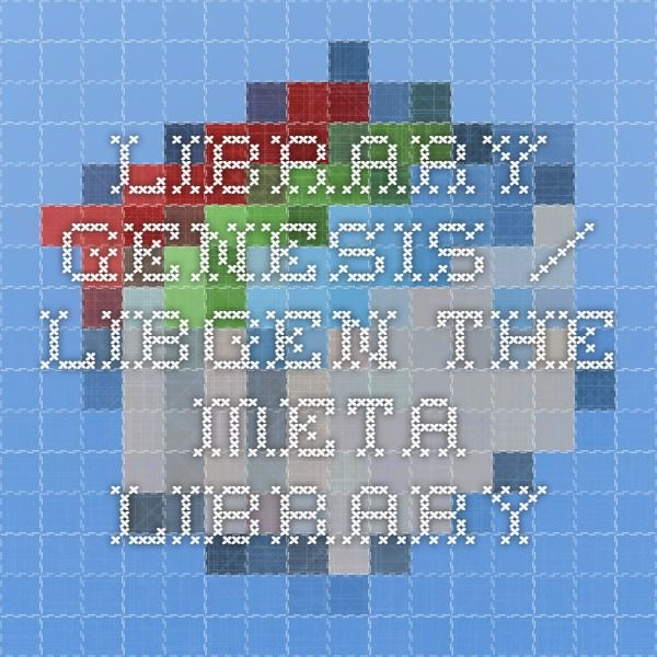 Library Genesis / LibGen - The Meta Library
