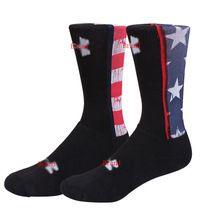 Masculino Skate Algodão Engrosse longas Meias elite meias meias de Marca Das Mulheres Dos Homens Da Bandeira DOS EUA América Bandeira Na Altura Do Joelho Meias T3(China (Mainland))