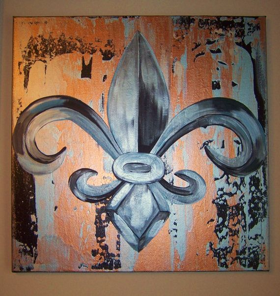 beautiful fleur de lis - would love this for our kitchen!