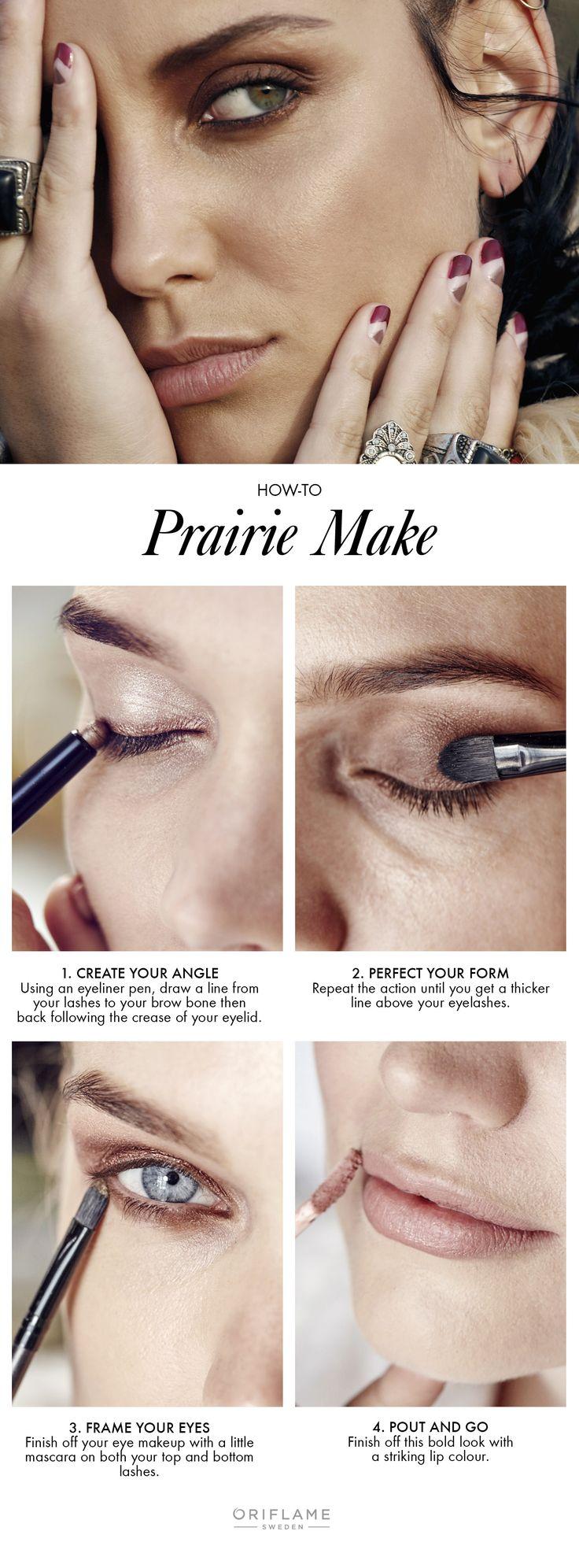 Prairie makeup look! #trend #makeup #oriflame