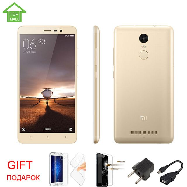 Original Xiaomi Redmi Note 3 prime MTK X10 Octa Core 64bit 5.5'' 3GB RAM 32GB ROM 4000mAh google play MIUI 7 Fingerprint ID US $209.99-242.99 /piece To Buy Or See Another Product Click On This Link  http://goo.gl/EuGwiH