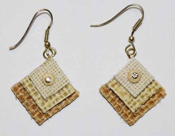 Intricate detailing and designing of these handmade jute earrings make them a special wear. Lightweight and trendy to match the look of the day. Artisans have worked on colors, stones, pearls, carving and cutting of jute beads to create these artistic earrings. Jute is a natural product