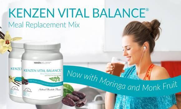 CLEAN organic meal replacement shake, Vital Balance by Nikken. Certified Organic Moringa, Medium Chain Triglycerides, Enzymes, Gluten Free #kosher #glutenfree #organic #meal #replacement #nikken