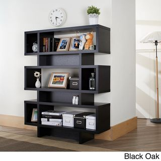 Furniture of America Tier Display Cabinet/ Bookcase   Overstock.com Shopping - The Best Deals on Media/Bookshelves