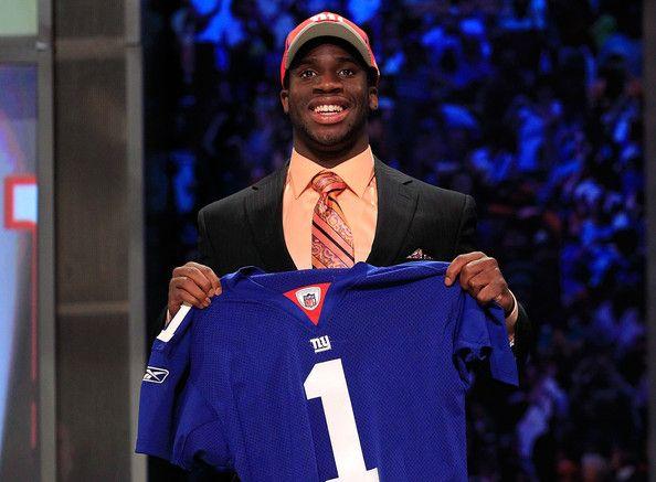 Prince Amukamara, NY Giants' 2011 #1 Draft Pick.