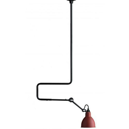 Lampe Gras - No. 312. moffice.dk. #design #belysning #kontor #pendel  #indretning #lampe #rød