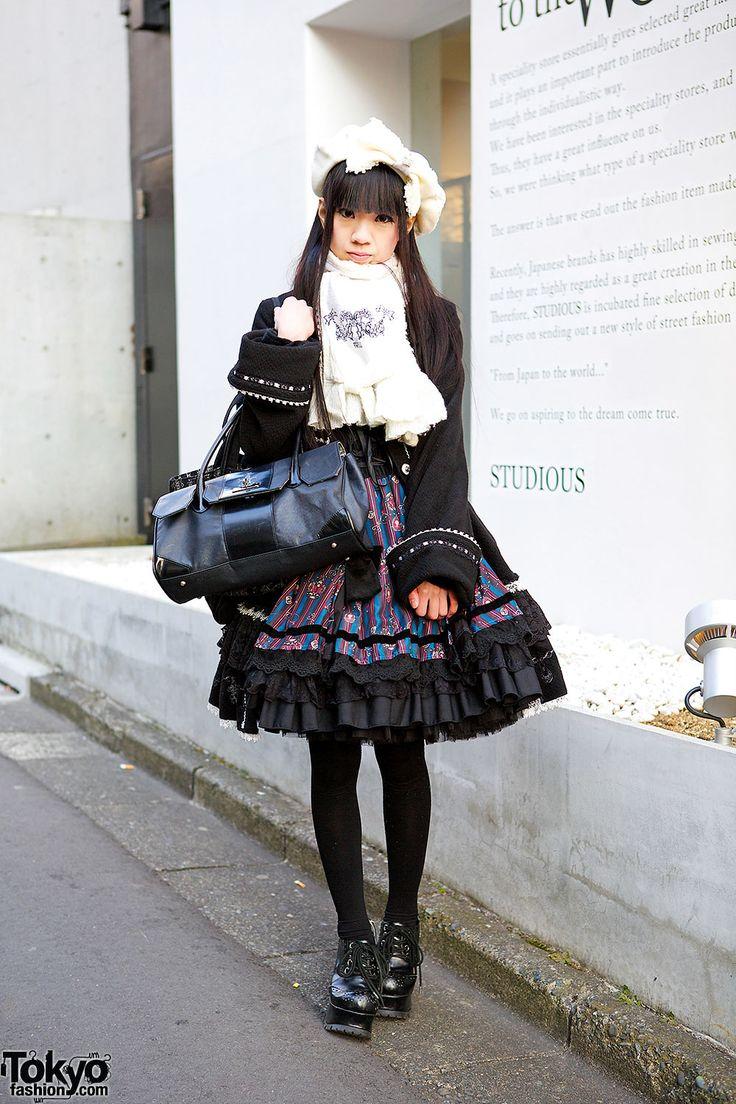 готика Лолита ... Alumi | 27 февраля 2014 | # Мода # Harajuku (原宿) # Сибуя (渋 谷) # Токио (东京) # Япония (日本)