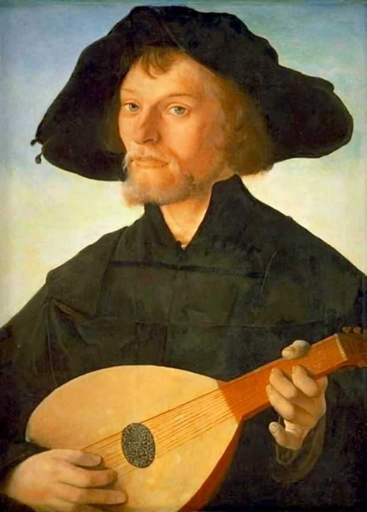 Italian Renaissance Art - Male Lute Player | guitar/lute ...