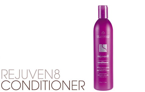 Rejuven8 Conditioner is an organically based product with Bilberry and Aloe Vera Extracts designed to care for chemically treated hair available from Gorgeous Hair At Gorokan for just $23.95 this conditioner is 100% Vegan, 100% made and owned and environmentally responsible :)
