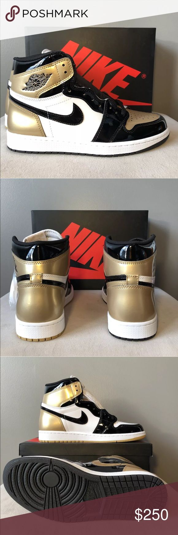 Air Jordan 1 Retro High OG NRG Gold (Read Descrip) 100% Authentic 🔶 We are a very negotiable service 🔶 We provide overnight shipping and express shipping 🔶 Our transactions are made through third party applications 🔶 If you are interested in buying this product please contact us @ 201-496-0366 🔶 Air Jordan Shoes Sneakers