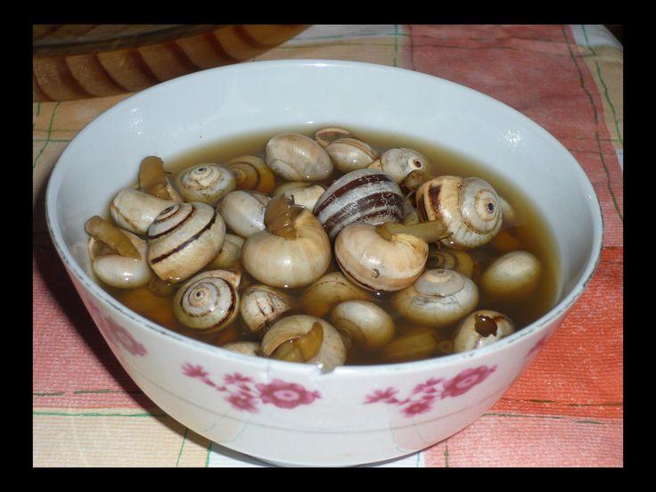 Cocina conmigo: Caracoles. Cooking Snails