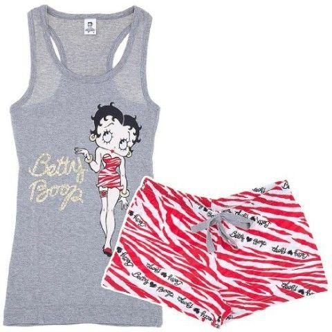 Betty Boop pajamas. Love these!