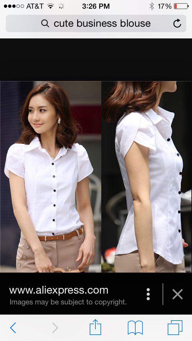 Cute business blouse