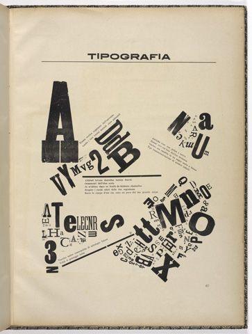 Tipografia / Soffici