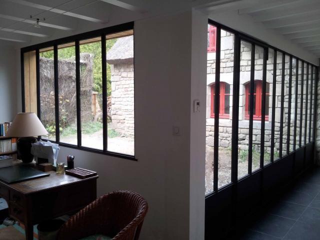 veranda verriere pr sentation de verri re v randa en acier veranda pinterest v randas. Black Bedroom Furniture Sets. Home Design Ideas