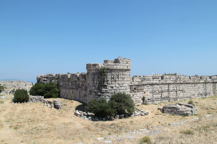 Tower in Castle of Neratzia Wall, Kos