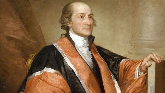 May 17, 1829: John Jay, the first chief justice of the Supreme Court of the United States, dies at the age of 83 in Bedford, New York. Jay also served as the president of the Continental Congress and was an ambassador to Spain and France during the American Revolutionary War. He also served as the second Secretary of Foreign Affairs from 1784 to 1789, helping to fashion early United States foreign policy.