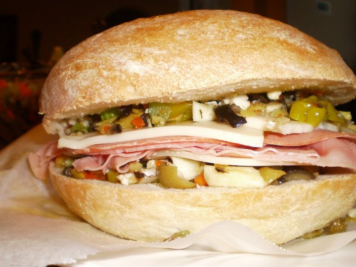 MUFFULETTA SANDWICH | Recipes I Want to Try | Pinterest
