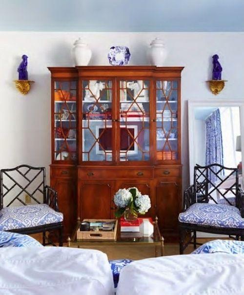 55 besten Home decor Bilder auf Pinterest Blau und Weiß, Blau und - wohnzimmer blau wei grau