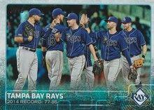 2015 Topps Baseball Rainbow #669 Tampa Bay Rays - Tampa Bay Rays