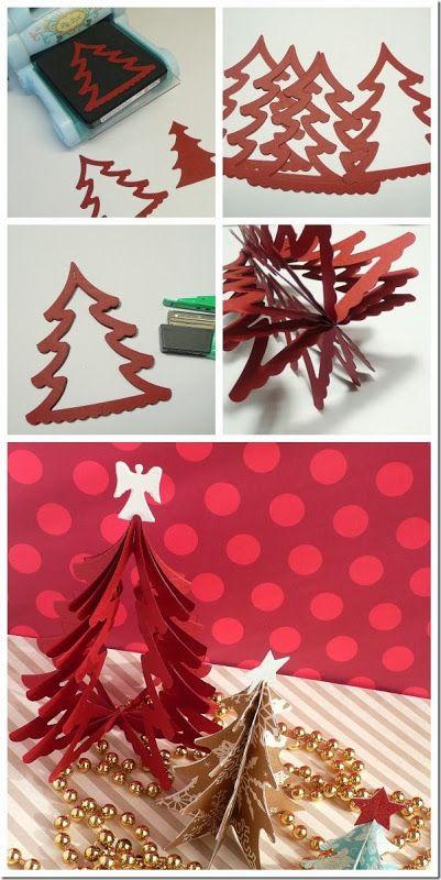 cafe creativo - sizzix big shot - christmas tree - holiday (5)