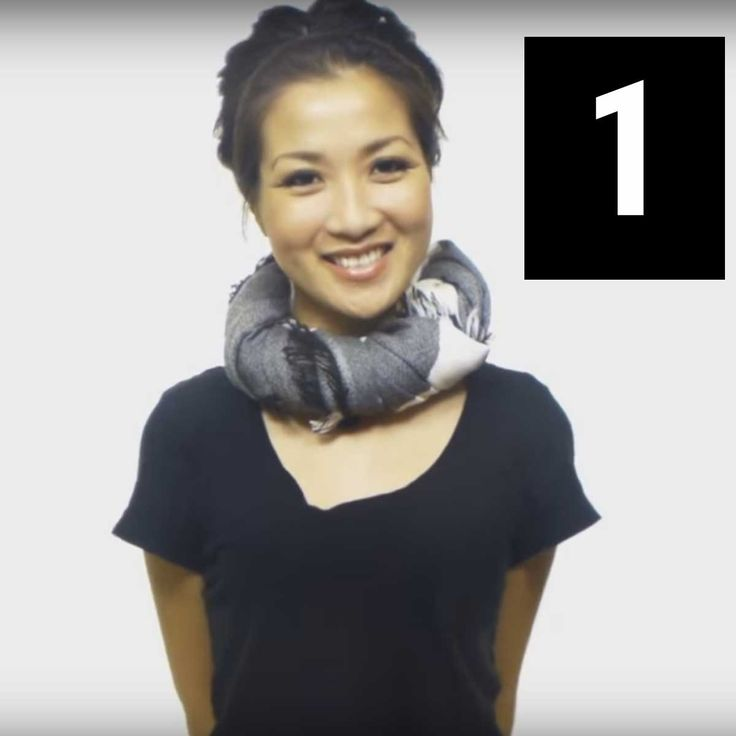 25 Maneiras Diferentes de Colocar o Seu Cachecol / Lenço