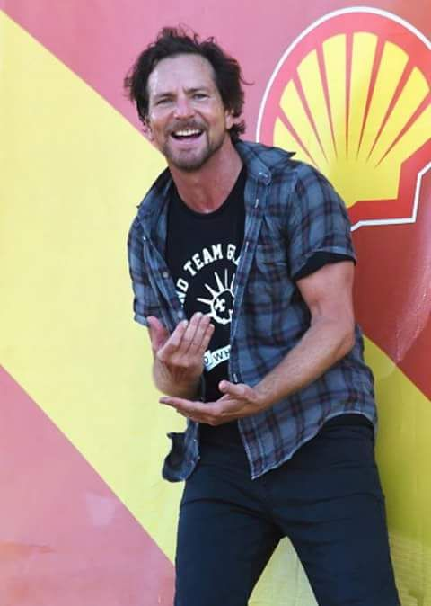 Eddie Vedder // JazzFest 2016 New Orleans // SO HAPPY to have been there!