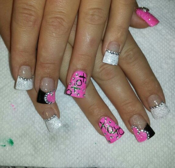 Wild French Tip Nail Designs: 25+ Best Ideas About Wide Tip Nails On Pinterest