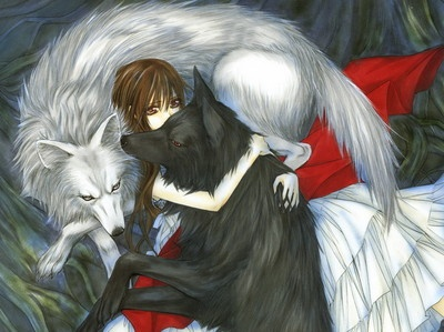 really pretty. it would be cool if they were werewolves instead of vampires. my opinion.