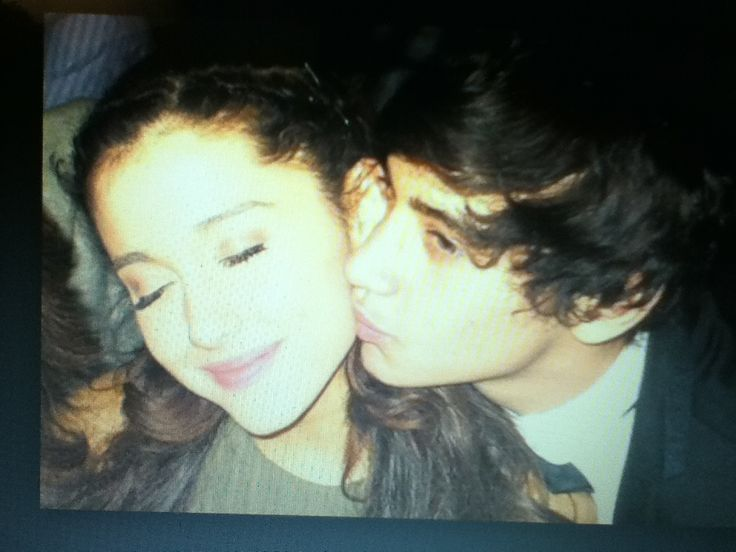 Austin Mahone!!! In the picture you can see that Austin Mahone is kissing Ariana Grande!!! OMG!!! -Yesenia Jerkins