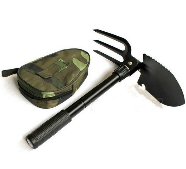 Survival Katlanabilir Tırmıklı Kürek (Tırmık Testere Pusula)