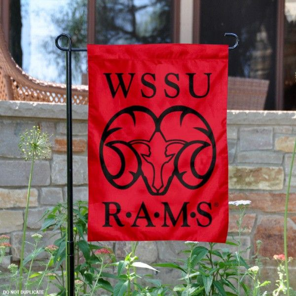 Winston Salem State University Garden Flag is 13x18 inches in size, is made of 2-layer polyester, screen printed university athletic logos and lettering, and...