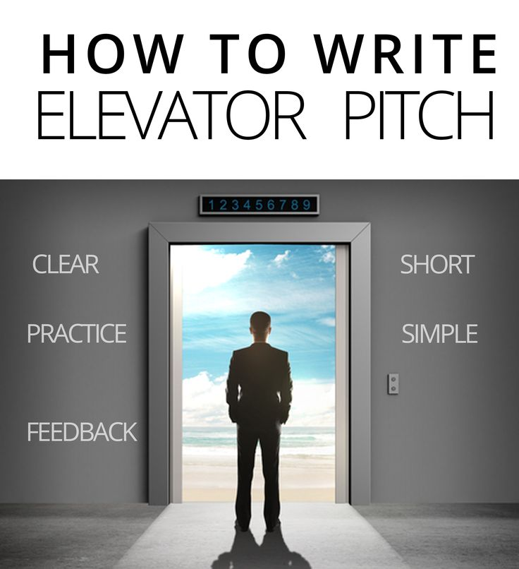 elevator pitch essay What's an elevator pitch an elevator pitch is a brief e-mail summary of your  business or a short story that you can tell in the course of a.