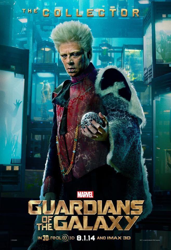 Guardiões da Galáxia(2014) - O Colecionador (Benicio del Toro) #PipocaComBacon @pipoca_combacon https://www.facebook.com/pipocacombacon2012