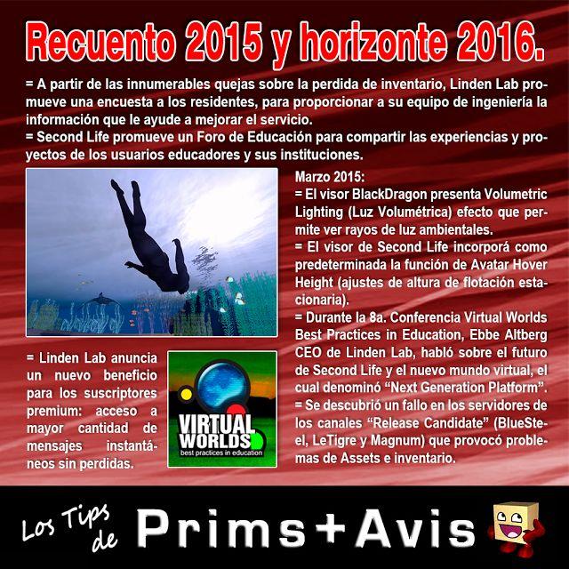 AMM Life & Style: AMM NUM 39 - RECUENTO 2015 Y HORIZONTE 2016 SECOND LIFE 02