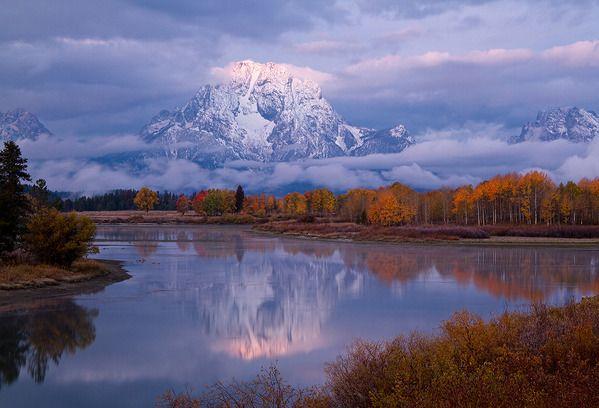 Oxbow Bend, Grand Teton National Park, Wyoming, US.