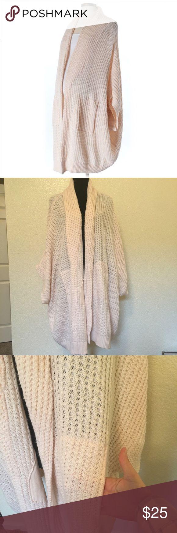 Jessica McCarthy plus size cardigan Jessica McCarthy open cardigan. Blush pink. Knit. Size 3X jessica mccarthy Sweaters Cardigans