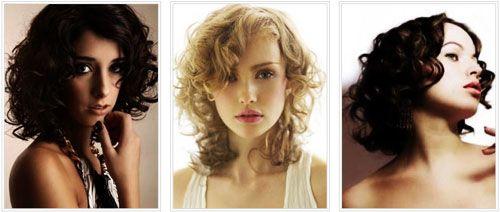 Стрижки на средние вьющиеся волосы фото