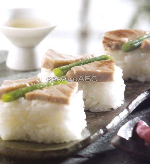 Teriyakis tonhal oshi sushi   Receptek   gasztroABC