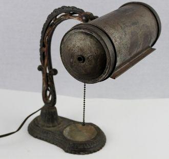 1920s Victorian Desk Lamp, Office Lamp
