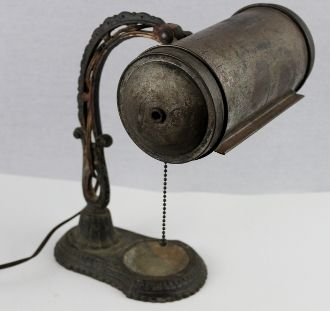 1920s Victorian Desk Lamp, Office Lamp