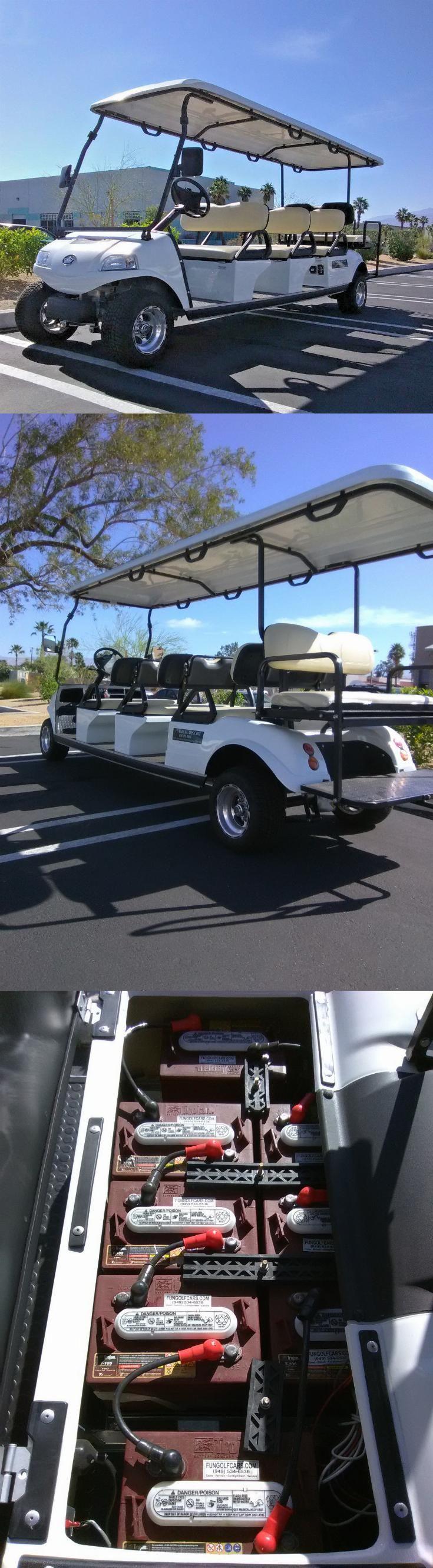 great features 2017 Evolution limousine Golf Cart