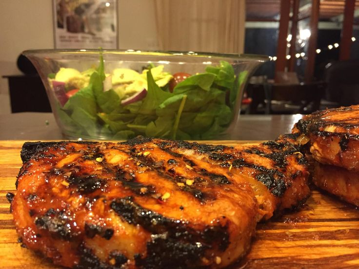Grilled Vietnamese lemongrass pork chops = happiness #grilling #BBQ #Deals #recipes #discounts #summer #foodie #food #recipe #free
