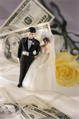 This helps break it down a little: Wedding and Finance Responsibilities