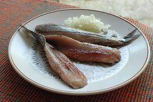 Soused Herring Served for Midsummer Eve