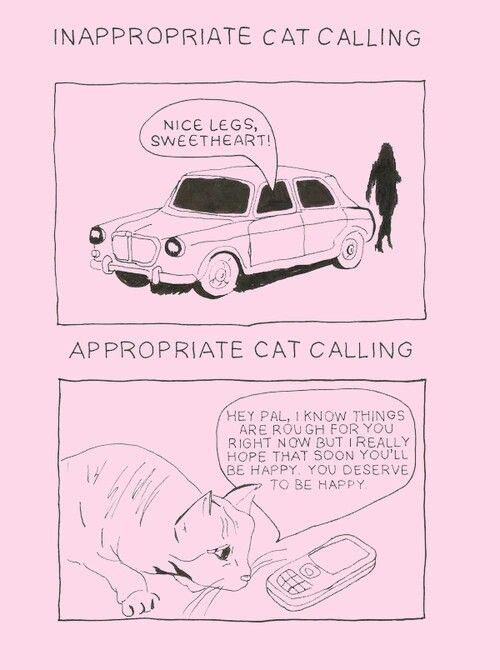 18 Kickass Illustrated Responses To Street Harassment
