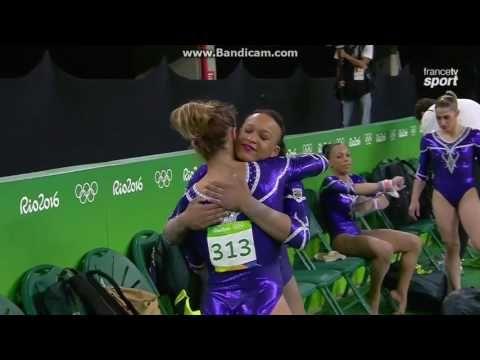 Jade Barbosa BRA Qual VT Olympics Rio 2016